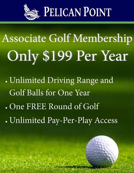 associate golf website ad